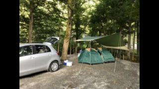 オートキャンプの様子