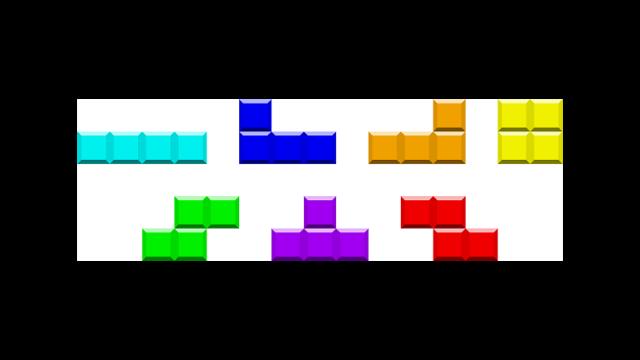 テトリスのブロック