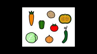 いろいろな野菜のイラスト