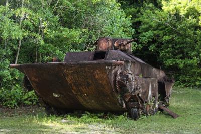 ペリリュー島の戦闘機