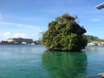 パラオの小さな島