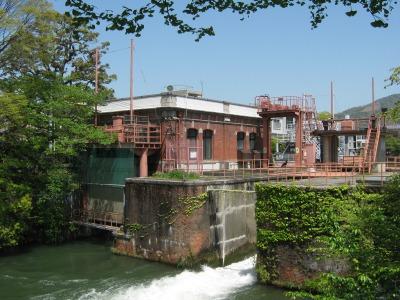 京都の夷川発電所