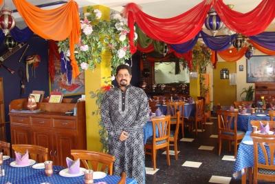 パラオのインド料理レストラン・タージ1