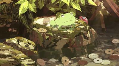 井戸の中の蛙の矢二郎