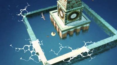弁天の休憩所・海の時計台