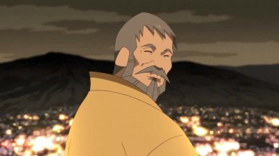 矢三郎の脳裏にいる父・総一郎
