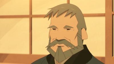 優しい表情の父・総一郎