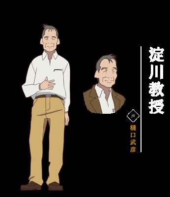 有頂天家族の淀川教授・布袋