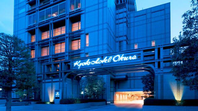 京都のホテルニューオークラ