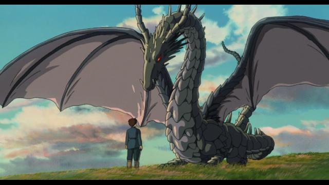 ゲド戦記のアレンと龍のテルー