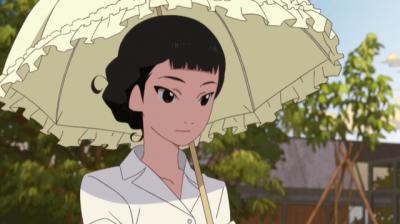 日傘をさす南禅寺玉瀾
