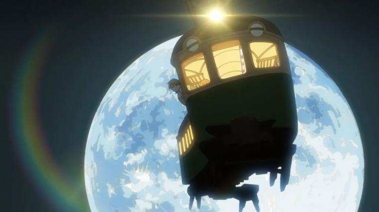 空を飛ぶ偽叡山電車