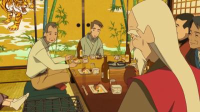 檻に入った桃仙を見てはっとする淀川教授