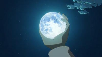 矢三郎の月を幻術で奪う天満屋