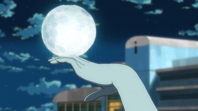 矢三郎の月を指先で転がす弁天