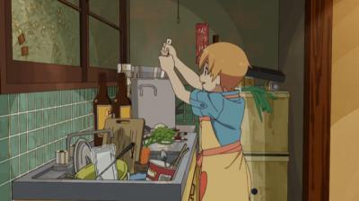 歌いながらカレーを作る矢四郎