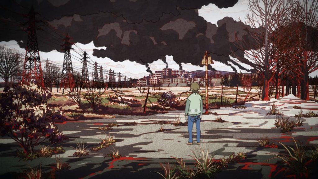 アニメ有頂天家族2で矢三郎が落とされた地獄の風景