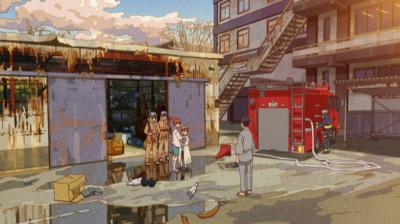 矢四郎の実験室が爆発し、ドイツ製空気銃が見つかる