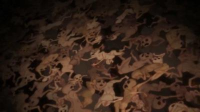 叫び続ける地獄の底の亡者たち