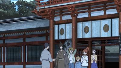 和解の握手をする呉一郎と矢一郎