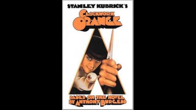 時計じかけのオレンジのポスター