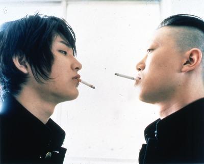 青い春の松田龍平と新井浩文