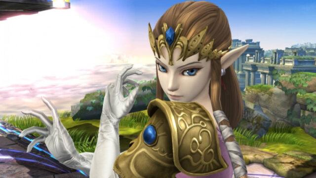 ゼルダの伝説スマブラのゼルダ姫