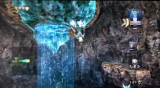 ゼルダのダンジョン・トワイライトプリンセス・ゴロン鉱山・磁力床1