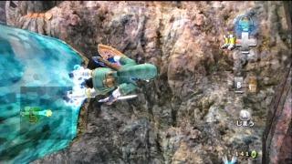 ゼルダのダンジョン・トワイライトプリンセス・ゴロン鉱山・磁力床2